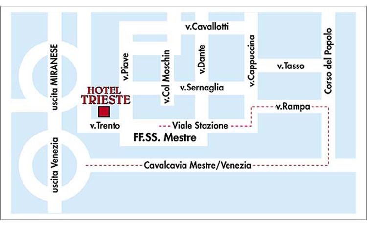 hoteltriestevenezia_mappa